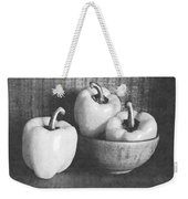 Bowl With Three Peppers Weekender Tote Bag