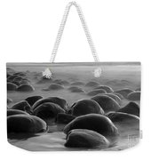 Bowling Ball Beach Bw Weekender Tote Bag