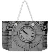 Bowling Green Time In Black And White Weekender Tote Bag