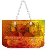 Bowls In Basket Moderne Weekender Tote Bag