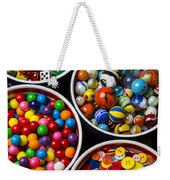 Bowls Of Buttons And Marbles Weekender Tote Bag