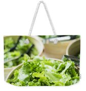 Bowls Of Salad Keaves Weekender Tote Bag