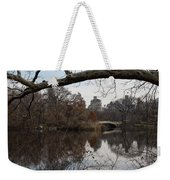 Bows And Arches - New York City Central Park Weekender Tote Bag
