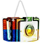 Box Camera Pop Art 3 Weekender Tote Bag