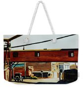 Box Factory Weekender Tote Bag by Edward Hopper