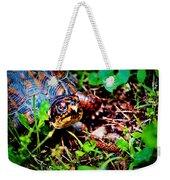 Box Turtle Weekender Tote Bag