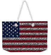 Boxed Flag Weekender Tote Bag
