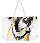 Boxer Dog Poster Weekender Tote Bag