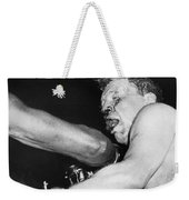 Boxer Near His Limit Weekender Tote Bag