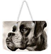 Boxer Profile Weekender Tote Bag