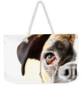 Boxer's Eye Weekender Tote Bag
