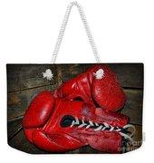 Boxing Gloves Weekender Tote Bag by Paul Ward