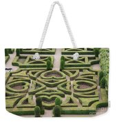 Boxwood Garden - Chateau Villandry Weekender Tote Bag