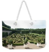 Boxwood Garden Design - Chateau Villandry Weekender Tote Bag