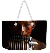 Boy Of The Amazon 3 Weekender Tote Bag