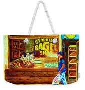 Boy With The Steinbergs Bag Weekender Tote Bag