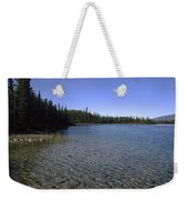 Boya Lake Weekender Tote Bag