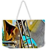 Boyd Plaza Fountain Revisited Weekender Tote Bag
