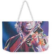 Boyd Tinsley Colorful Full Band Series Weekender Tote Bag by Joshua Morton