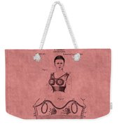 Bra Patent 10b Weekender Tote Bag