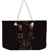 Bra Patent 18 Weekender Tote Bag
