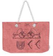 Bra Patent 21 Weekender Tote Bag
