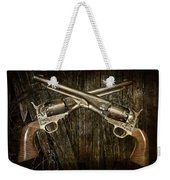 Brace Of Colt Navy Revolvers Weekender Tote Bag