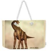 Brachiosaurus Dinosaur Weekender Tote Bag
