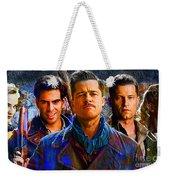 Brad Pitt Original Weekender Tote Bag