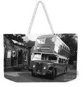 Bradford Bus In Mono  Weekender Tote Bag