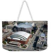 Bradley Center And Us Cellular Arena Weekender Tote Bag