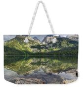 Bradley Lake Reflection - Grand Teton National Park Weekender Tote Bag