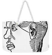 Brain Diagram, 1503 Weekender Tote Bag