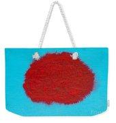 Brain Red Weekender Tote Bag