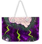 Brain Storm Weekender Tote Bag