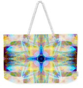 Brainbow Mandala Weekender Tote Bag