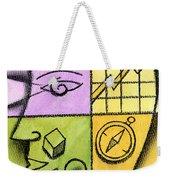 Brainstorming Weekender Tote Bag by Leon Zernitsky