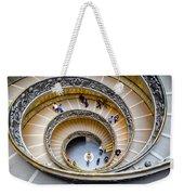 Bramante Spiral Staircase In Vatican City Weekender Tote Bag
