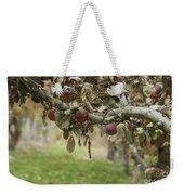 Branch Of An Apple Tree Weekender Tote Bag by Juli Scalzi