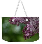 Branch With Spring Lilac Flowers Weekender Tote Bag