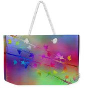 Branches In The Mist 17 Weekender Tote Bag by Tim Allen