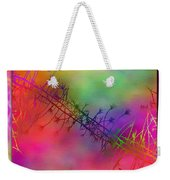 Branches In The Mist 24 Weekender Tote Bag by Tim Allen