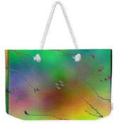 Branches In The Mist 27 Weekender Tote Bag