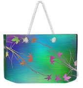 Branches In The Mist 64 Weekender Tote Bag
