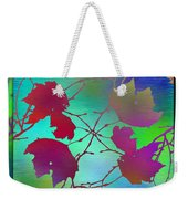 Branches In The Mist 72 Weekender Tote Bag