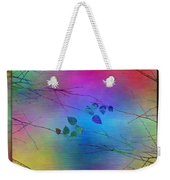 Branches In The Mist 81 Weekender Tote Bag