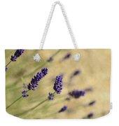 Branches Of Flowering Lavender Weekender Tote Bag