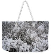 Branches Of Snow Weekender Tote Bag