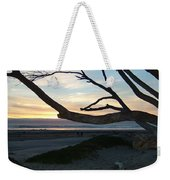 Branches Over The Beach Weekender Tote Bag
