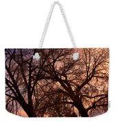 Branching Out At Sunset Weekender Tote Bag